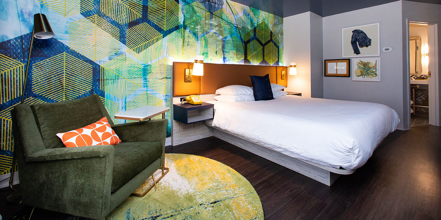 Welcome to Hotel Denim Greensboro's Newest and Hippest Boutique Hotel