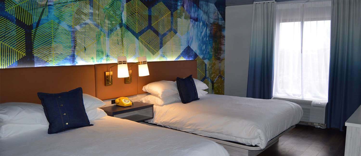 UNWIND IN ONE OF OUR BEAUTIFULLY DESIGNED GUEST ROOMS
